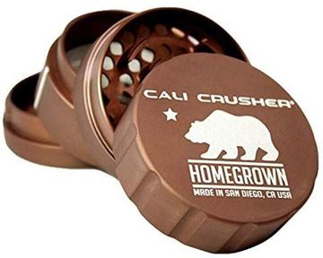 Picture of Cali Crusher® Homegronw 4 Piece Grinder Brown