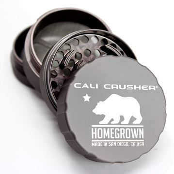Picture of Cali Crusher Homegrown 4 Piece Grinder Grey