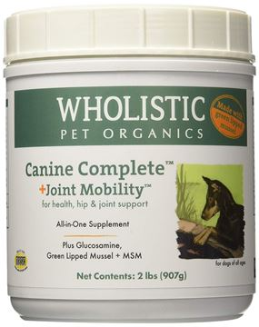 Picture of Wholistic Pet Organics Canine Complete Plus Joint Mobility with Green Lipped Mussel Supplement