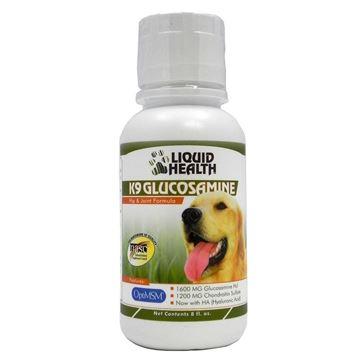 Picture of Liquid Health for Animals-K-9 Glucosamine 8 oz Liquid