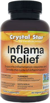 Picture of Crystal Star Inflama Relief, 60 Vegetarian Capsules