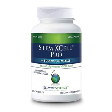 Picture of Enzyme Science - Stem XCell Pro, Antioxidant Support for Cellular and Immune Health, While Helping Protect from Oxidative Damage with Green Tea, Red Wine and Blueberry Extracts, Vegetarian, 60 Count