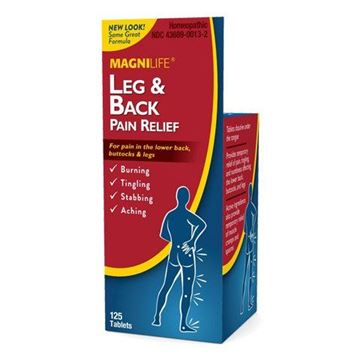 Picture of MagniLife Leg and Back Pain Relief Tablets, Burning, Tingling, Stabbing Discomfort Relief & Treatments (125 Tablets)