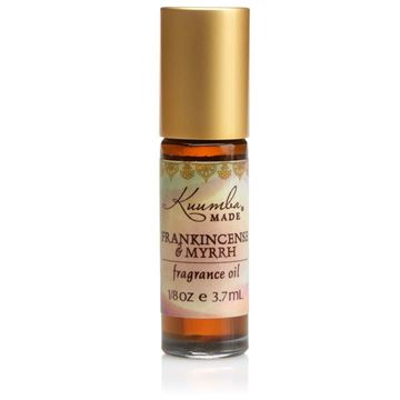 Picture of Kuumba Made Frankincense & Myrrh Fragrance Oil Roll-On .125 Oz / 3.7 ml (1-Unit)