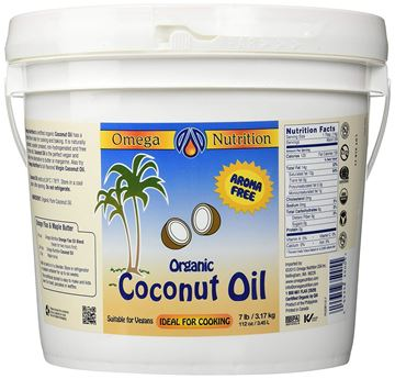 Picture of Omega Nutrition - Certified Organic Coconut Oil 112 Oz