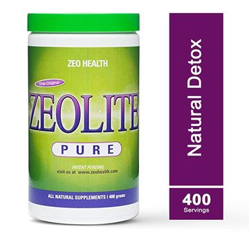 Picture of ZEOLITE PURE | Full Body Detox Cleanse | Safe, Gentle, & Effective Energy Booster that Supports Gut Health, Mental Clarity, & Healthy Inflammation Response| Original Zeolite Powder (400 Servings)