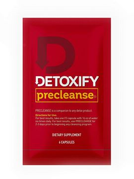 Picture of Detoxify – PreCleanse Herbal Supplement – 6 Capsules – Professionally Formulated PreCleanse Herbal Supplement – Perfect Start to Your Cleansing Program