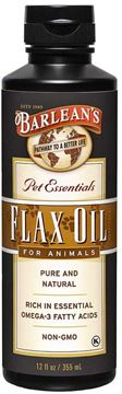 Picture of Barlean's Flax Oil for Animals, 12-Ounce Bottles (Pack of 2)