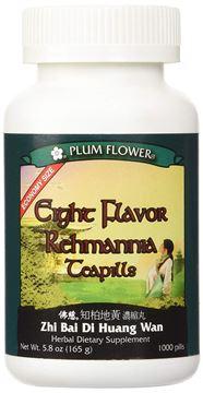 Picture of Eight Flavor Rehmannia Teapills -- Economy Size -- Plum Flower, 1000 Pills