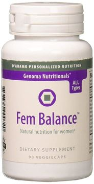 Picture of D'Adamo Personalized Nutrition Fembalance, 90 Count