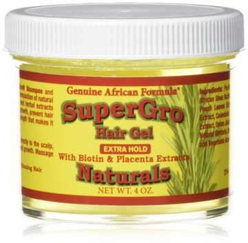 Picture of African Formulas, Hair Gel Conditioning Super Grow, 4 Ounce