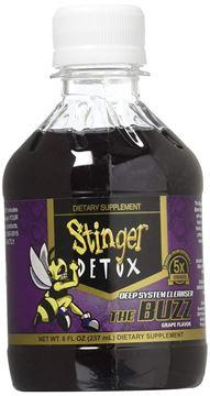 Picture of Stinger 1-Hour Detox Liquid Drink 5x Strength Grape 8oz 2PK The Buzz Cleanser