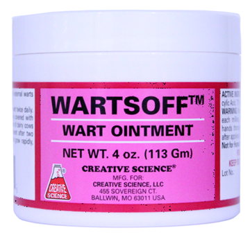 Picture of Creative Science Wartsoff Wart Removal Ointment | 4 oz